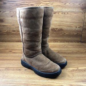Ugg Australia Ultimate Tall Braid Sheepskin Boots